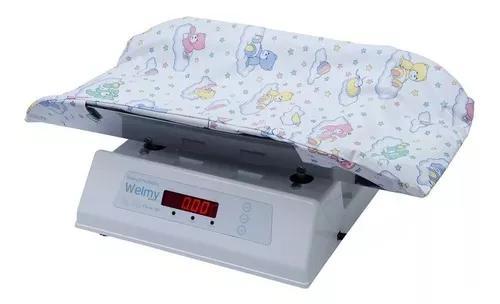 Balança digital profissional bebê 15kg 109e com almofada