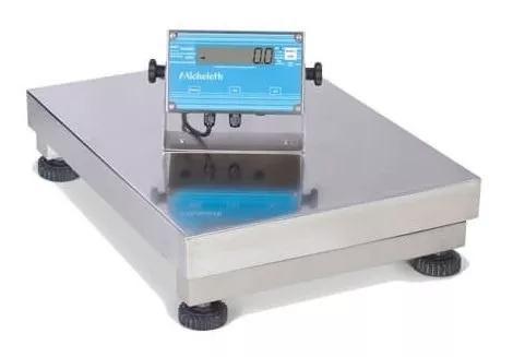 Balança elet micheletti mic50 inox 40x50 s/c 50kg varimaq