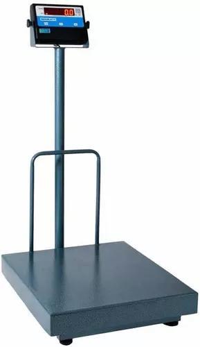 Balança eletronica 300kg x 100g plat 50x60 coluna imediato