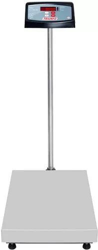 Balança eletronica inox 300kg 40x60 inmetro pronta entrega
