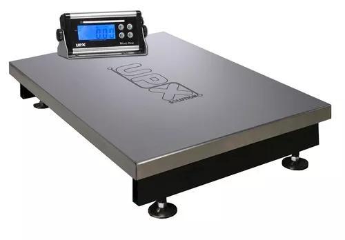 Balança eletronica inox 300kg x 50/100g bateria inmetro