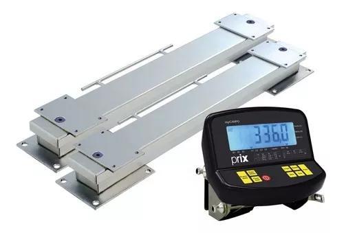 Balança toledo pesar gado 3000kx500 mgrcampo bateria