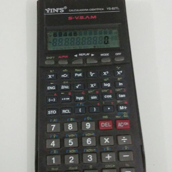 Calculadora científica ys-82tl