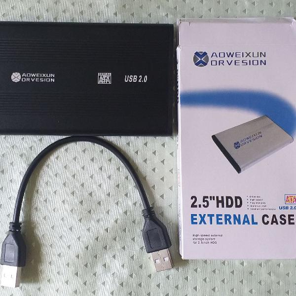 Hd externo 2.0 500gb para pc, notebook, ps3, ps4 xbox one tv