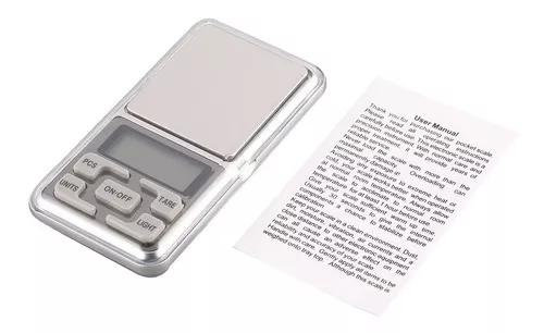Mini balança de bolso digital 1000g 0.1g para jóias de
