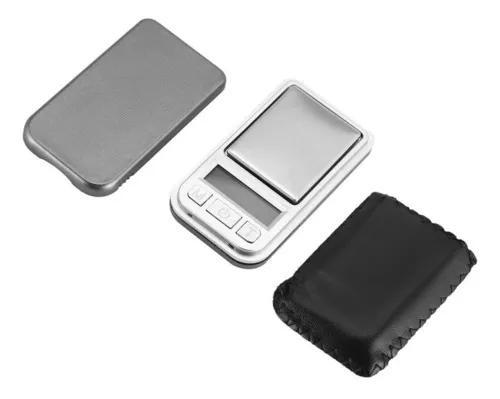 Mini balança de bolso digital 200g 0.01 precisão para