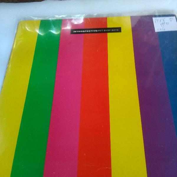 Pet shop boys disco de vinil, lp introspective