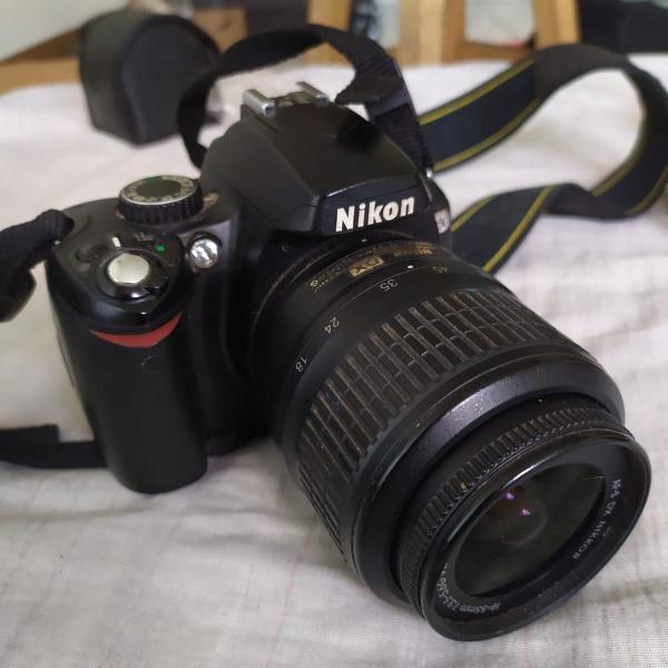 Camera nikon d60