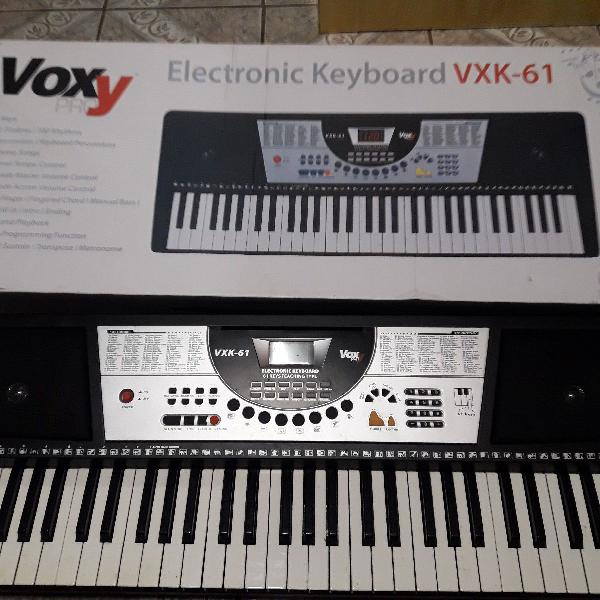 Teclado musical eletrônico novo