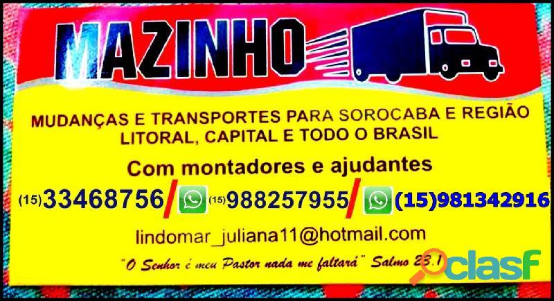 Transporte mudanças & fretes todo brasil