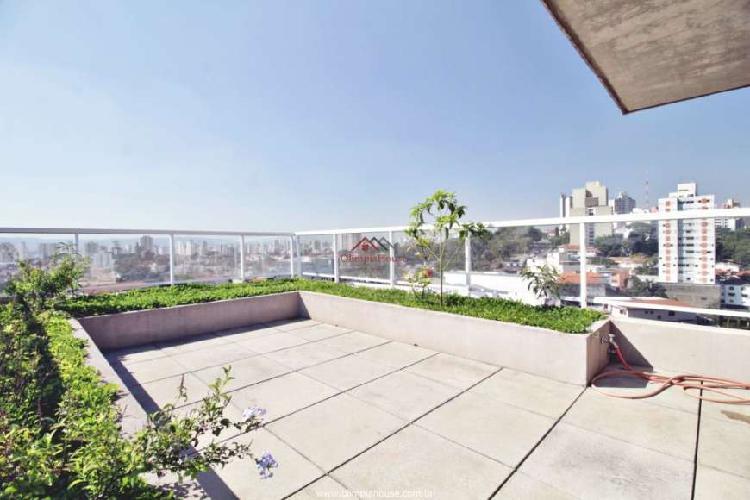 Apartamento duplex à venda com 242m², vila madalena, são