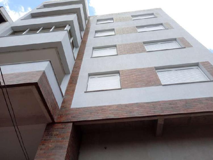 Apartamento novo 02 dormitorios suite churrasqueira