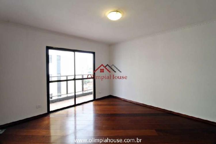 Apartamento para venda e locação com 143m², vila