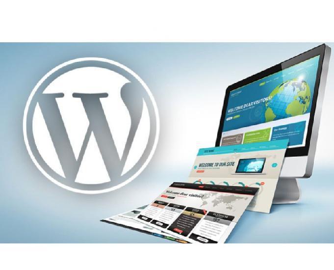Curso pratico + criação de website em wordpress