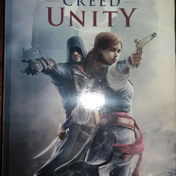 Livro assassins creed unity