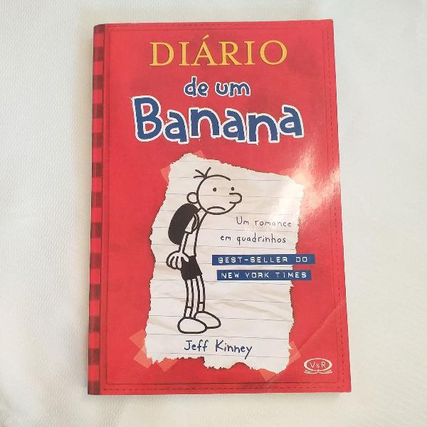 Livro diário de um banana: as memórias de greg heffley