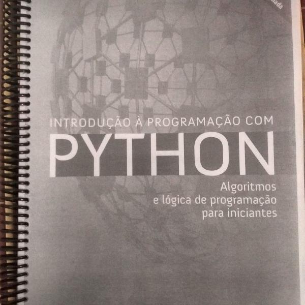 Livro - introdução a programação com python - nilo