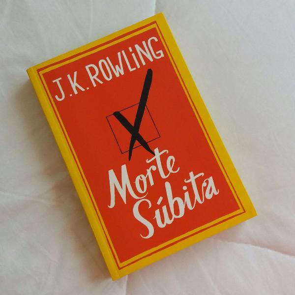 """Livro """"morte súbita"""""""