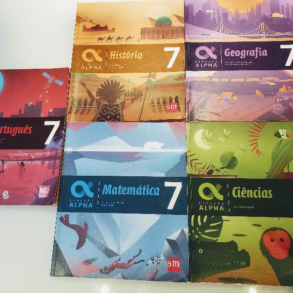 Livros didáticos geração alpha 7. ano