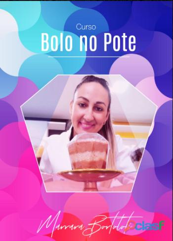 Apostila/curso bolo no pote gourmet marrara bortoloti !!!