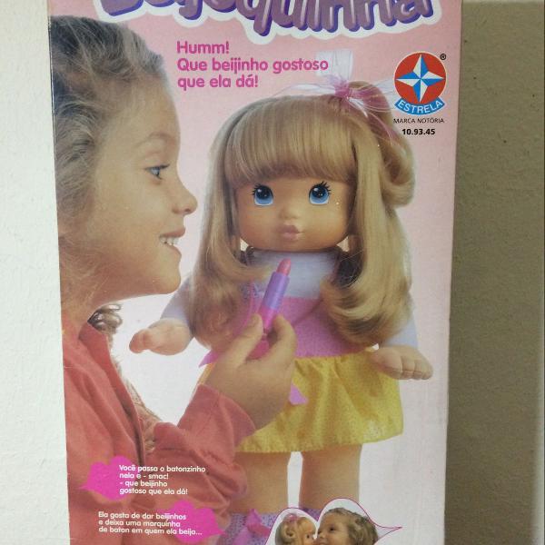 Boneca beijoquinha - anos 90