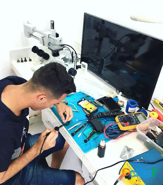 Curso conserto de celular e reparo de placas