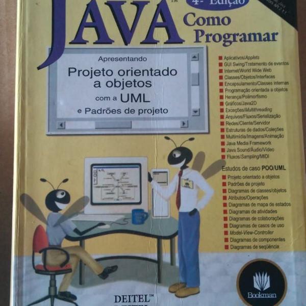 Java como programar - 4ª edição c/cd