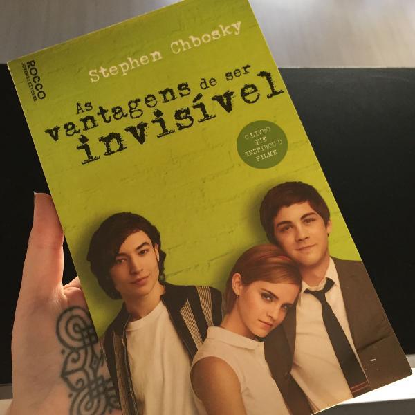 Livro as vantagens de ser invisivel