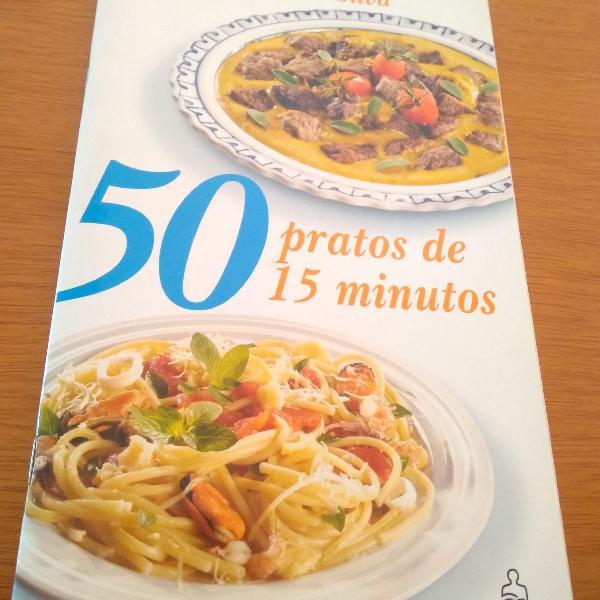 Livro de receitas 15 min