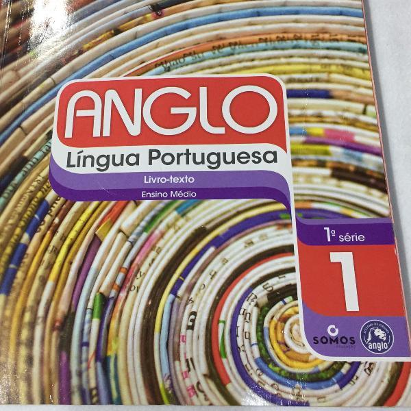Livro do anglo língua portuguesa, 1ª série