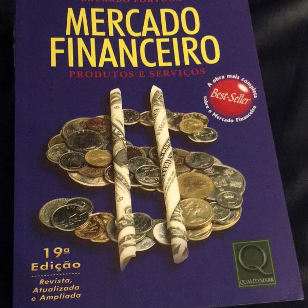 Livro mercado financeiro - produtos e serviços