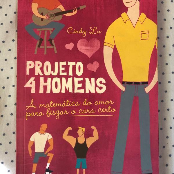 Livro projeto 4 homens