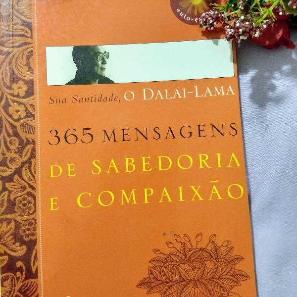 Livro sua santidade, o dalai-lama