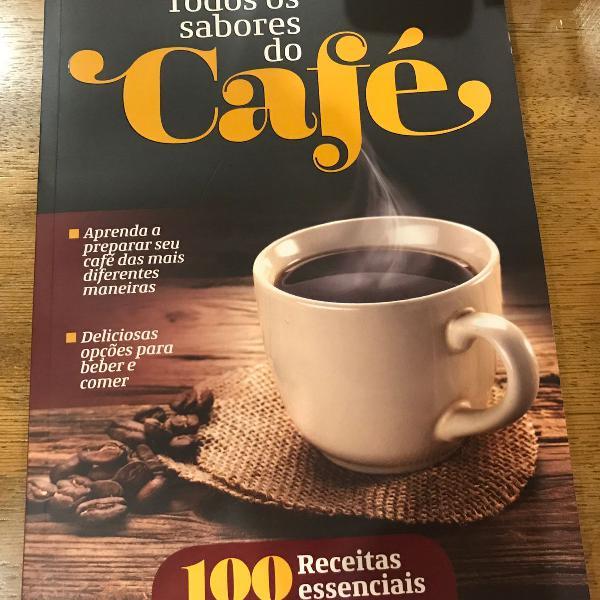 Livro todos os sabores do café