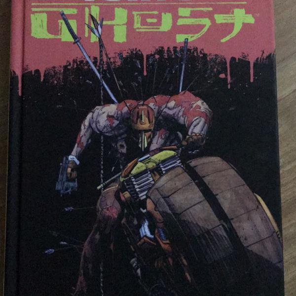 Livro tokyo ghost - edição completa