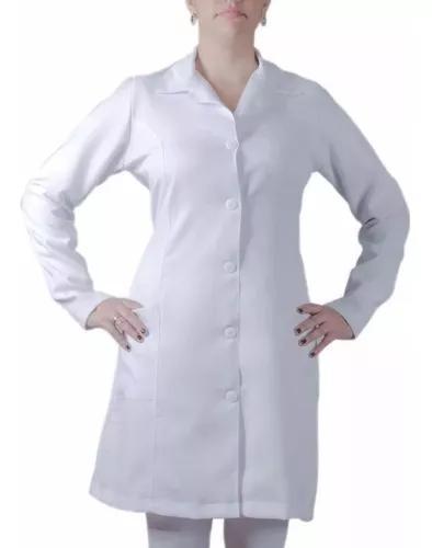 2 jaleco manga longa de enfermag