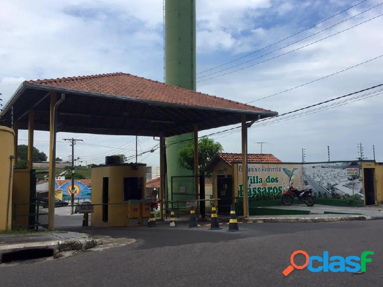 Aluga ou vende casa condominio residencial villa dos passaros na torquato tapajos - manaus amazonas am