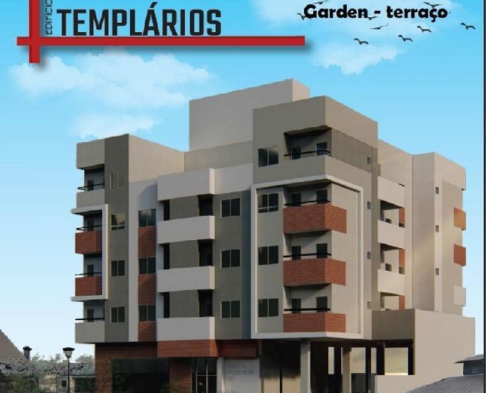Apartamento novo, 2 quartos, garden, terraço 124m²,