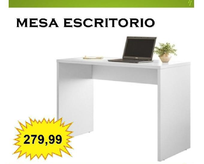 Mesa escritorio office presence branco demobile