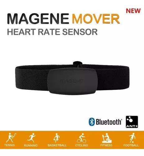 Monitor cinta peitoral frequencia cardiaca magene mhr10