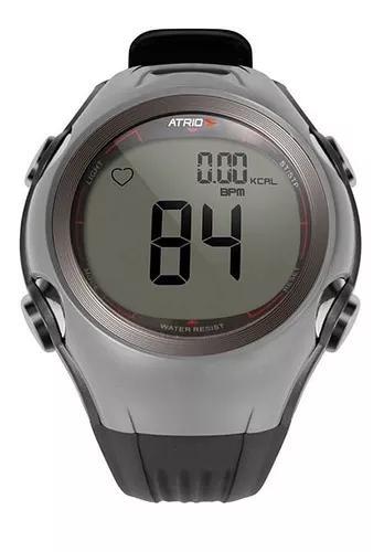 Relógio monitor cardíaco altius cinza atrio