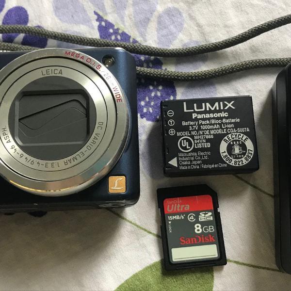 Câmera lumix panasonic dmc-tz3