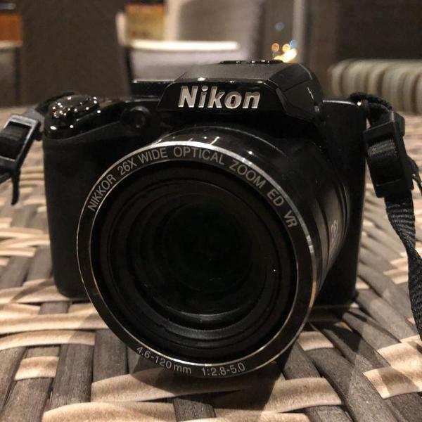 Câmeria nikon coolpix p100