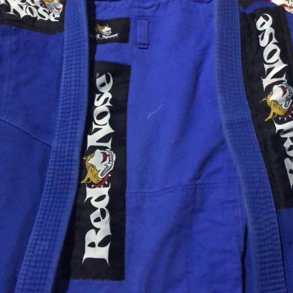 Kimono jiu-jitsu completo azul