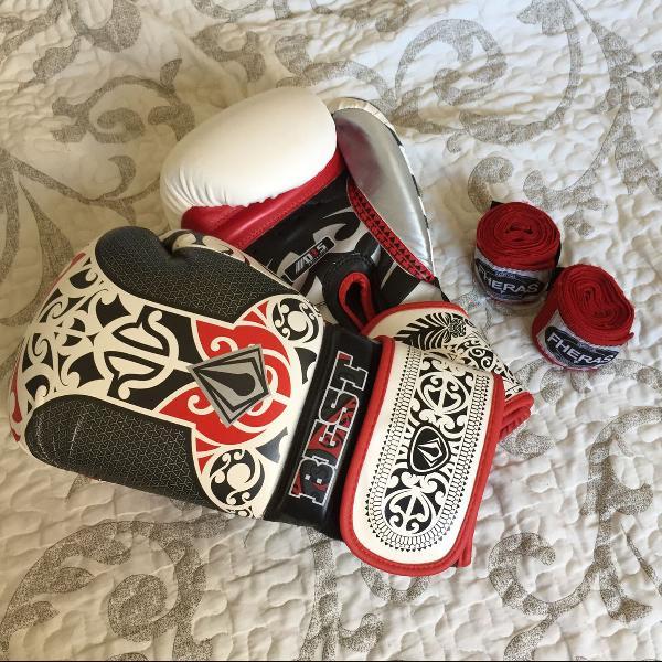Luvas boxe muay thai best defense maori