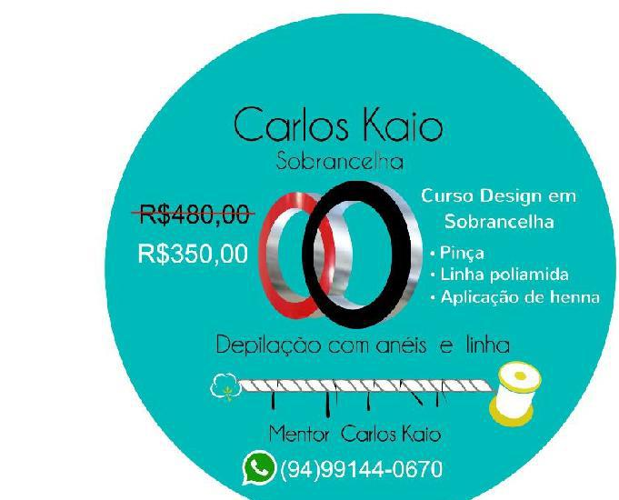 Promoção curso design de sobrancelha completo