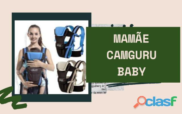 Mochila para carregar seu nenê com total segurança estilo canguru