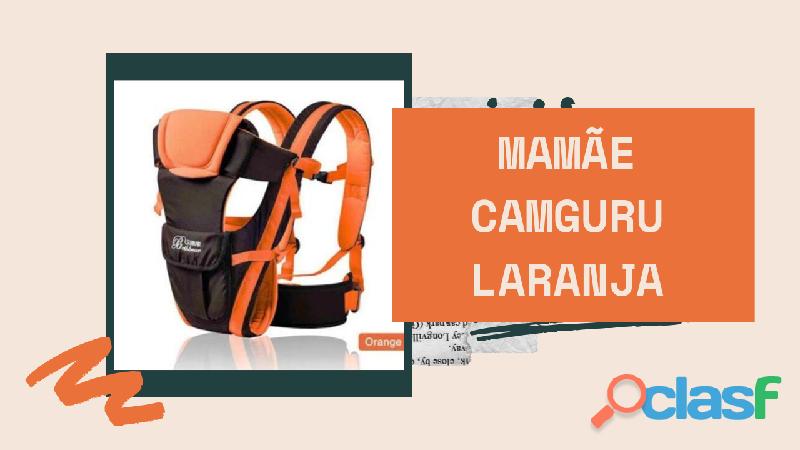 Mochila para carregar seu nenê com total segurança estilo canguru 1