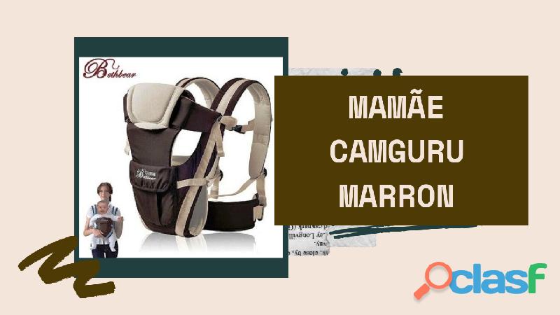 Mochila para carregar seu nenê com total segurança estilo canguru 2
