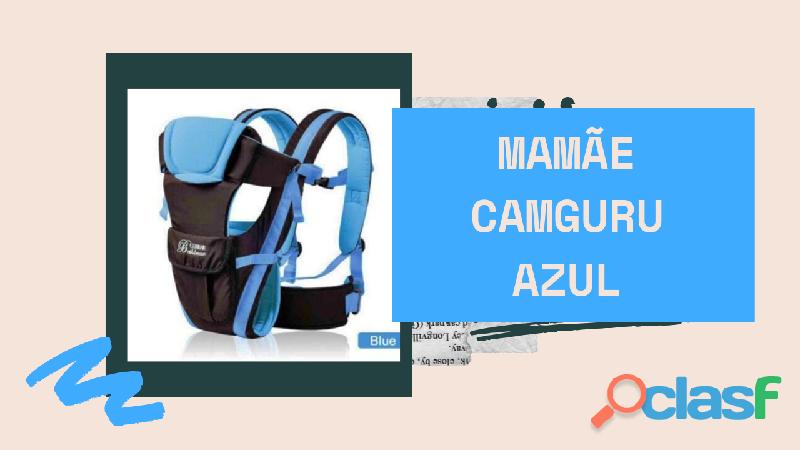 Mochila para carregar seu nenê com total segurança estilo canguru 3